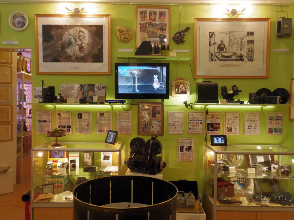 Дом живых игрушек  (Музей анимации, бывший Союзмутфильм)