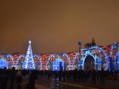 Зимняя сказка Санкт-Петербурга (Дворцовое ожерелье)-2015